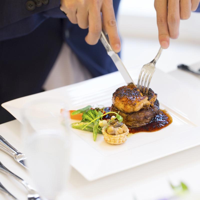 【宿泊特典付】牛フィレフォアグラ試食☆上質×美食婚フェア