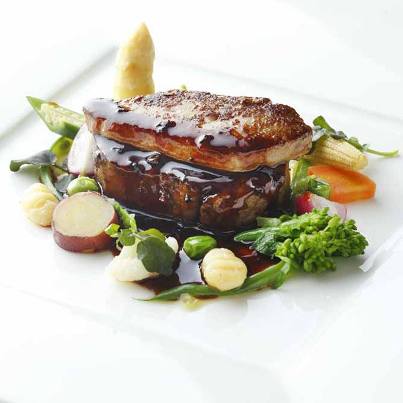 ≪決め手は料理≫シェフが届ける牛フィレロッシーニを無料試食