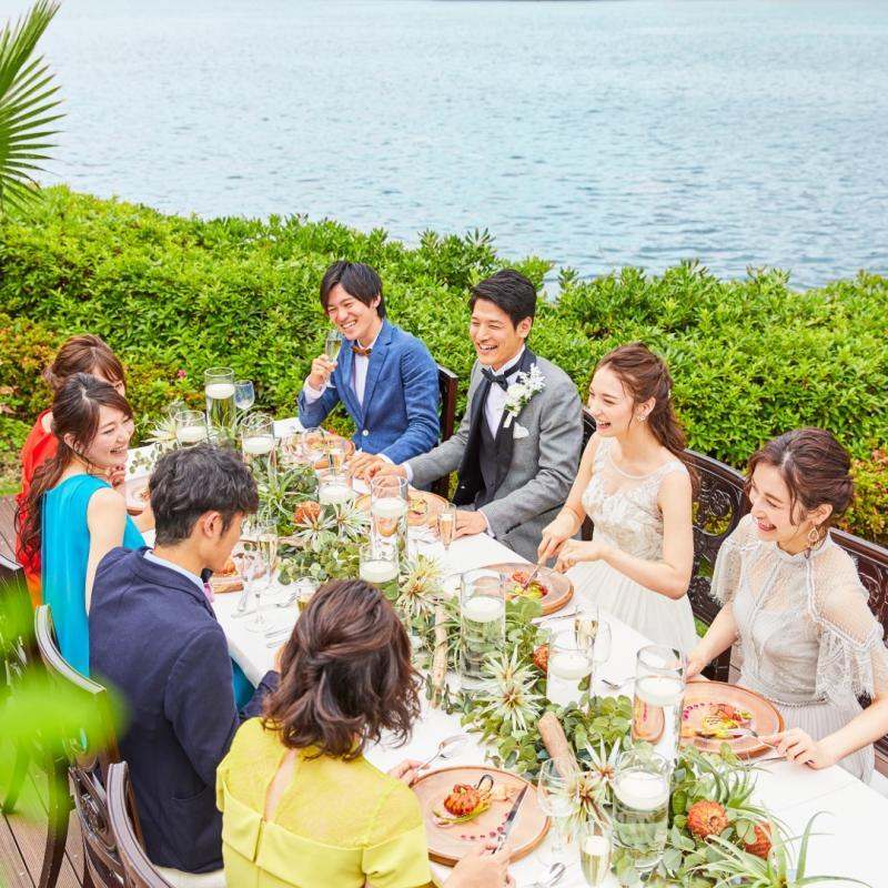 【18大特典付】試食×選べるチャペル&大階段&ガーデン演出体験