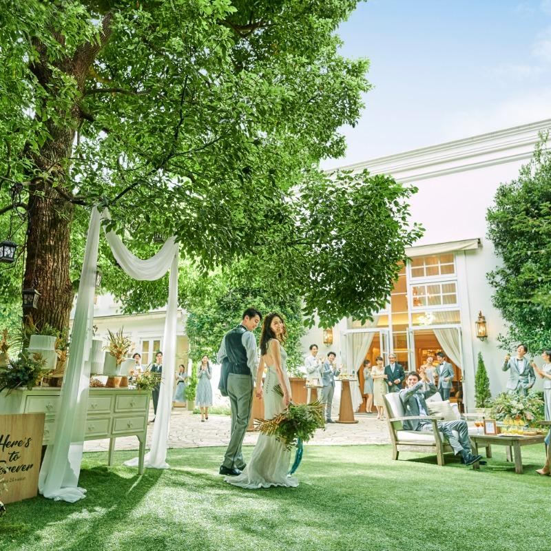 【■公式ベストレート保証】憧れ大階段&ガーデン体験!シンデレラフェア♪