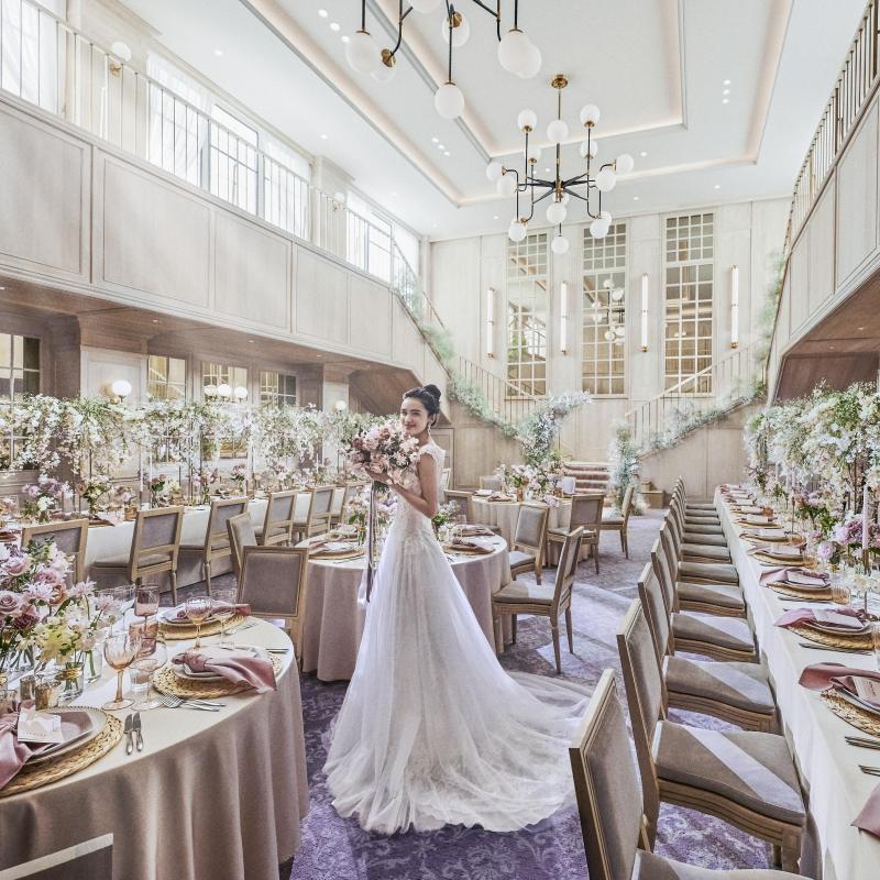 【結婚式の全てを教えます】会場見学ツアー&フルコース無料試食×模擬挙式