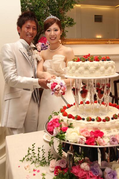 お気に入りのウェディングケーキ☆