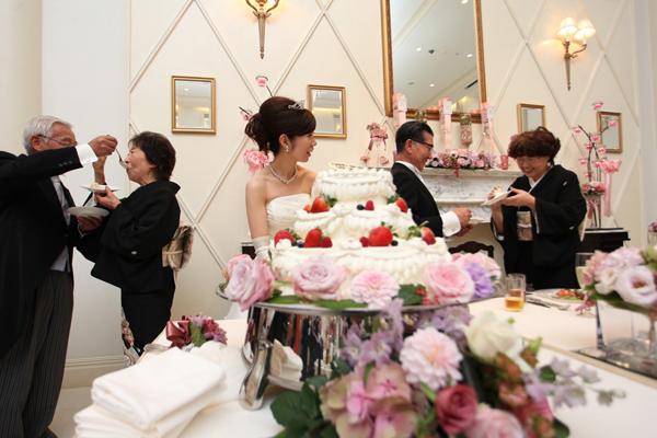 両親へのサプライズで、お手本バイト☆ 会場が盛り上がりました。