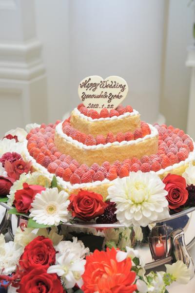 かわいいウェディングケーキがたくさん選べ迷いに迷った一品