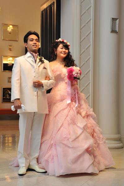 3着の中で、ピンクのドレスが1番お気に入り!