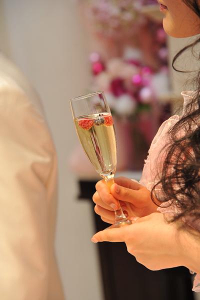 シャンパンベリーも可愛くて大好き。