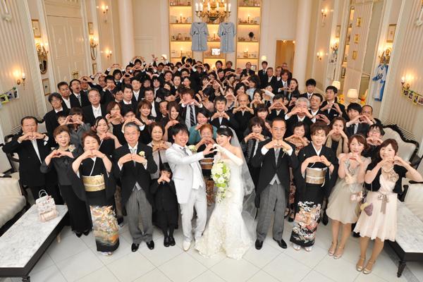 ゲスト全員との集合写真。思い出の一枚です。