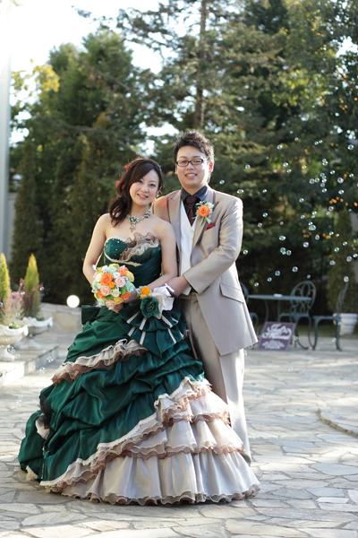 もうなんて言ったらいいのか・・・もう一度ここで結婚式をやりたいです!!