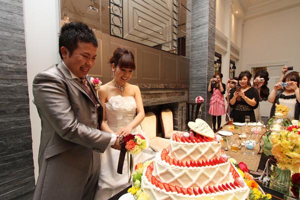 イメージ通りのケーキに感動!!
