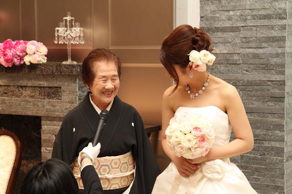 中座は大好きなおばあちゃんと!!サプライズ成功☆