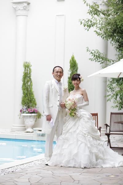 一生に一度の結婚式。最高の笑顔で迎えられたことに感謝です。