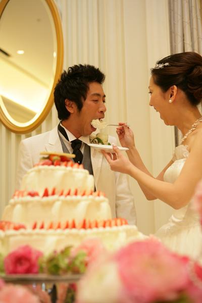 ハート型のケーキ、とっても美味しかったです。