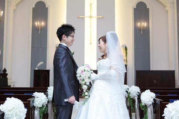 実は3人での結婚式!!