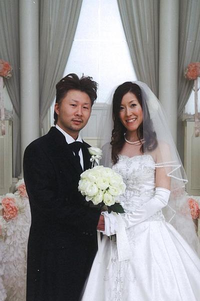 2人の結婚式の始まり