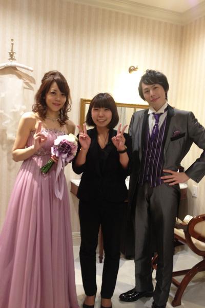 プランナー福吉さんと☆素敵な結婚式をありがとうございました
