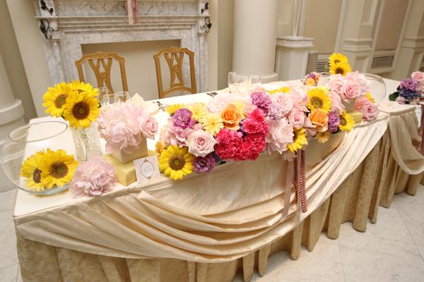 イメージ通りの装花で大満足です♪