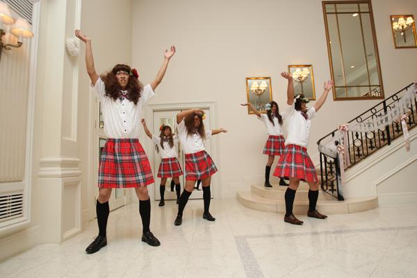 AKB48のヘビーローテーション踊ってくれました