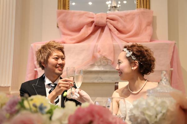 WEDDING PARTYのスタート