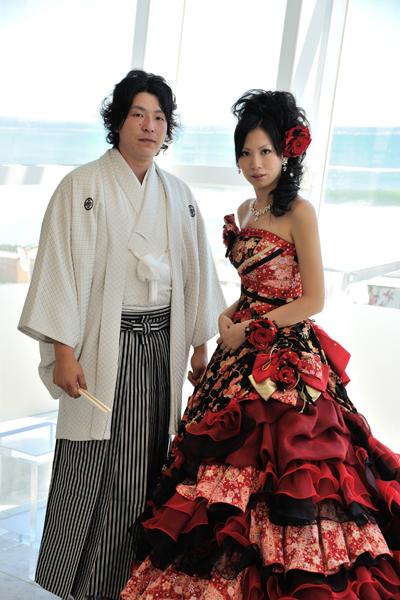 一目ぼれした和ドレス とどうしても着たかった袴