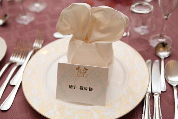 結婚式のテーマはディズニー☆スタッフさんご協力ありがとうございました!