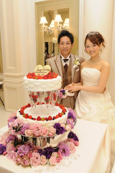 ケーキ入刀♪