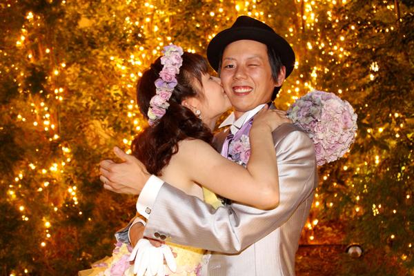本当に楽しく幸せな一日結婚式でした・・・