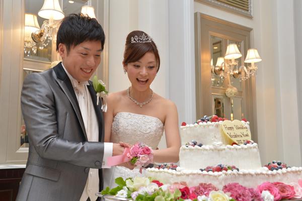 3段のケーキ!!!