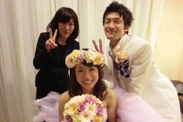 プランナーさんと3人で☆宮野さん、お世話になりました!!