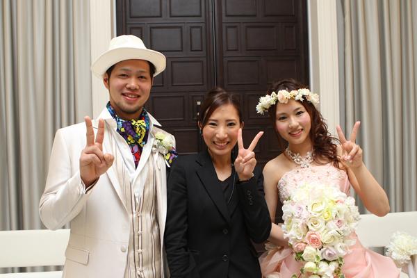 プランナーの暮松さん素敵な式にしてくれてありがとうございました!!