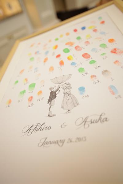 オリジナルの結婚証明書「ウェディングアンブレラ」♪一生の宝物。