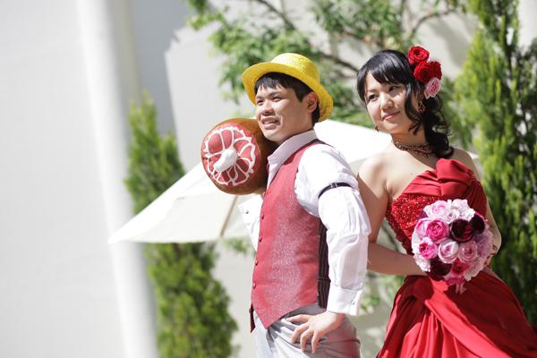 結婚式のテーマは、「ONE PIECE」