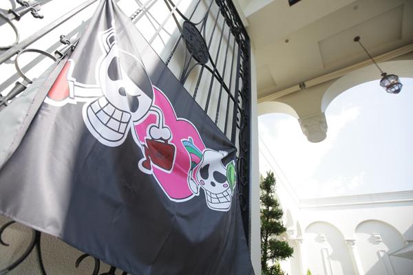 二人のオリジナル海賊旗