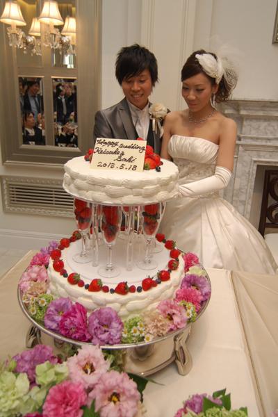 高さのあるケーキに大満足