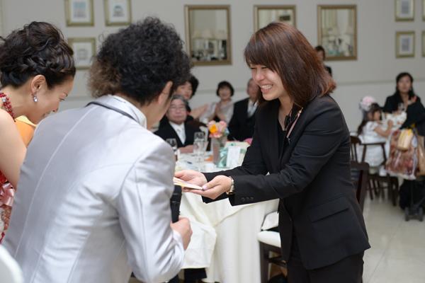 藤木さんなしでは、私たちの式は考えられません!本当にありがとうございました!