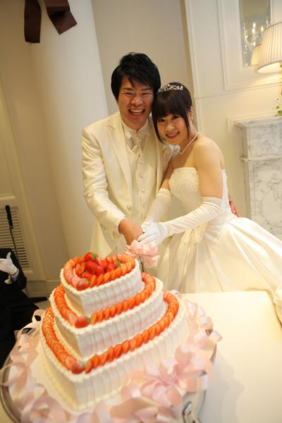 一目ぼれしたハートの3段重ねケーキ!!!