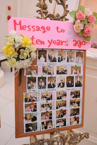 ゲストの皆様に10年後の自分へMessageを書いてもらいました