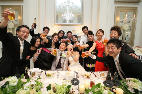 福島の飲み仲間たちと!!みんなビールが似合う!!