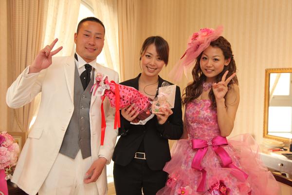 福田さんのおかけで素敵な結婚式になりました