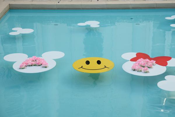 テーマの『Disney』と『Smile』 手作りの装飾品で会場に華を添えました☆