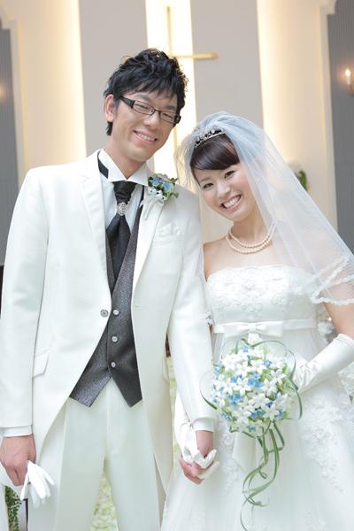 憧れの式場で夢のような結婚式