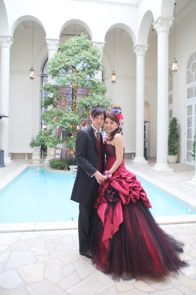 笑顔が絶えない幸せいっぱいの結婚式でした☆