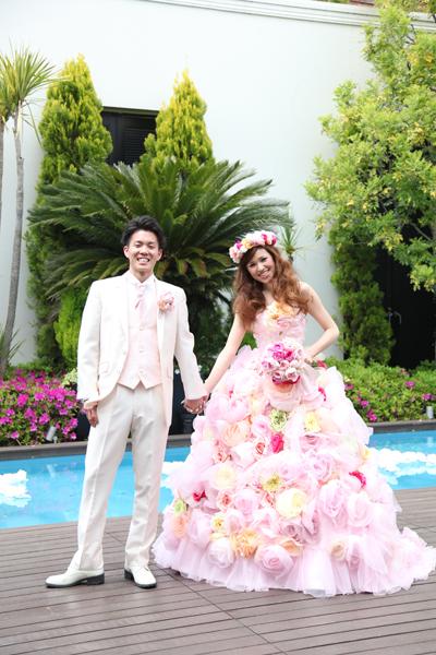 お気に入りのドレスが着れて幸せ~