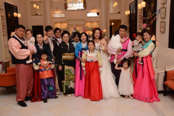 韓国から家族が、スタッフの方の親切な対応にとても感動していました