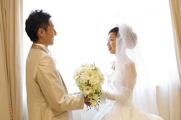 結婚式直前。緊張よりも、ワクワク!!