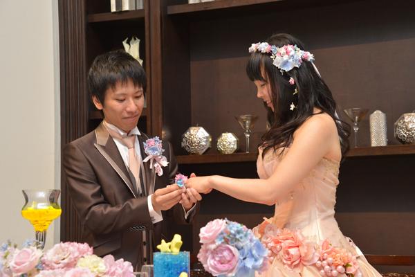 新婦に内緒で、サプライズでプロポーズを実行しました!