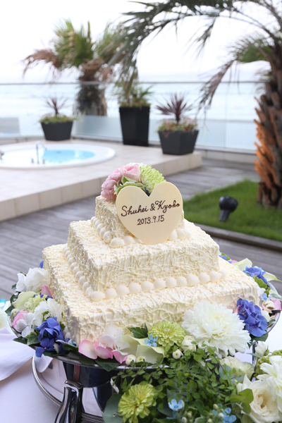 お花いっぱいのケーキ☆理想通り、かわいい&おいしい!!