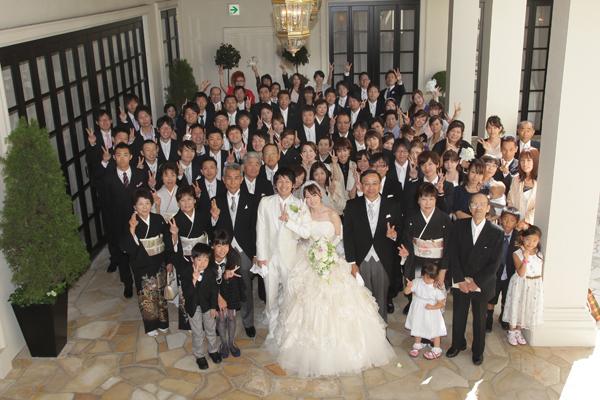 結婚式のテーマは「感謝」ホントみんなありがとう!