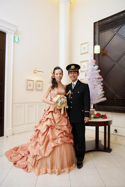 カラードレスと儀礼服