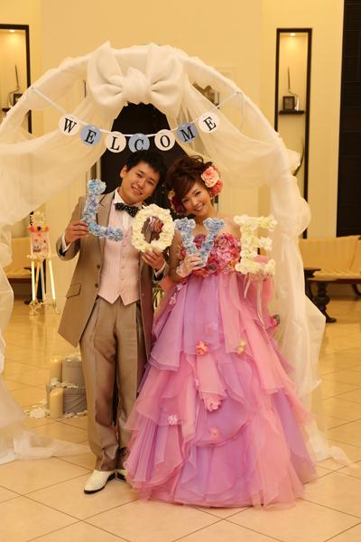 式が終わってすぐに「もう一度結婚式やりたい!」と思わせてくれるくらい、大満足の結婚式でした☆☆☆