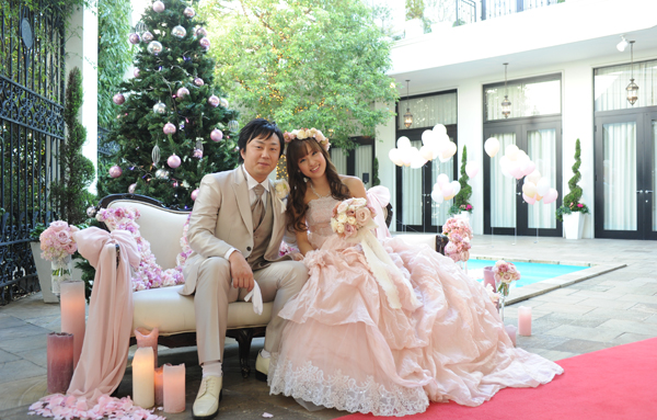 一生心に残る素敵な結婚式になりました